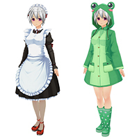 Maid and cute Costume set INM