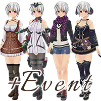 CUSTOM ORDER MAID 3D2 Costume+Flirty Shopping Date Set Vol.1